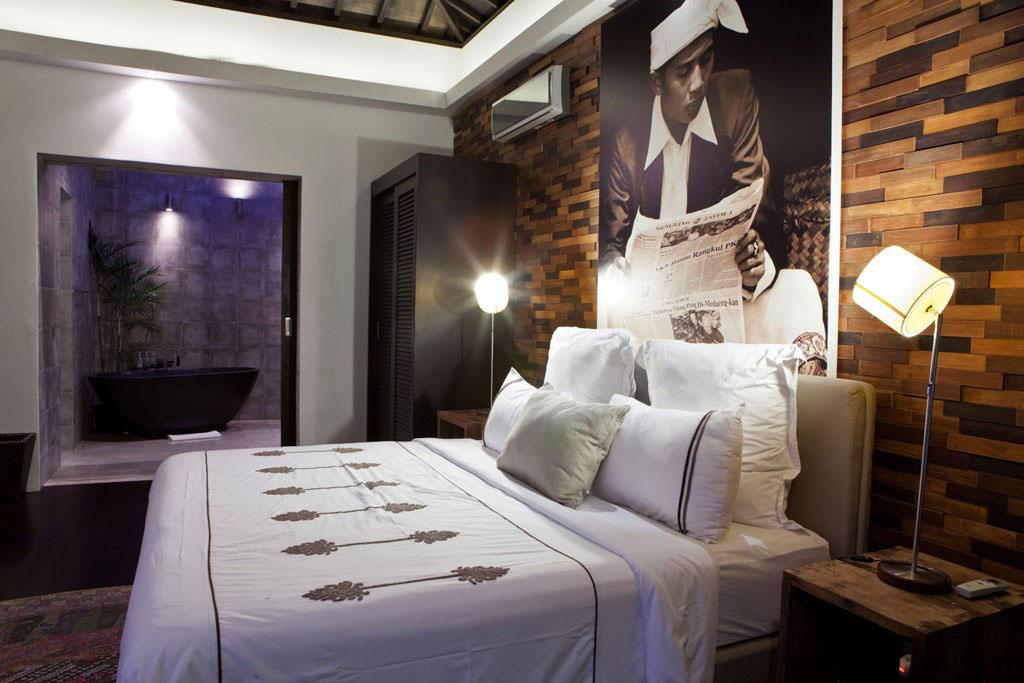 Bedroom, Bathroom, Casa Hannah in Bali, Indonesia by Bo Design