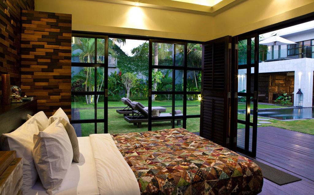 Bedroom, Patio Doors, Casa Hannah in Bali, Indonesia by Bo Design