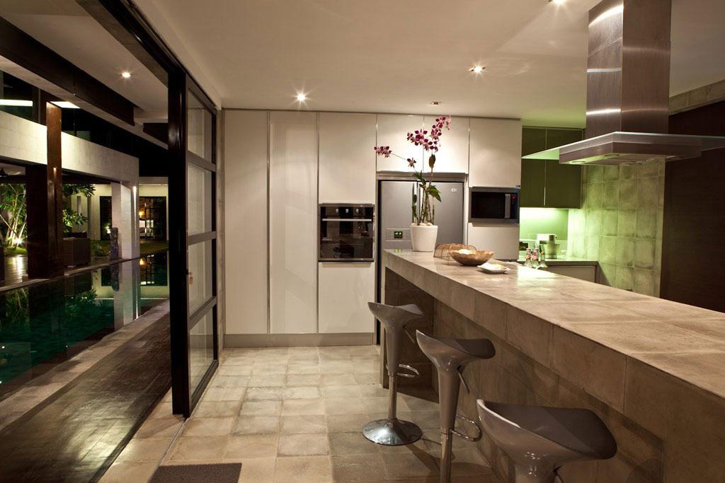 Kitchen, Breakfast Bar, Casa Hannah in Bali, Indonesia by Bo Design