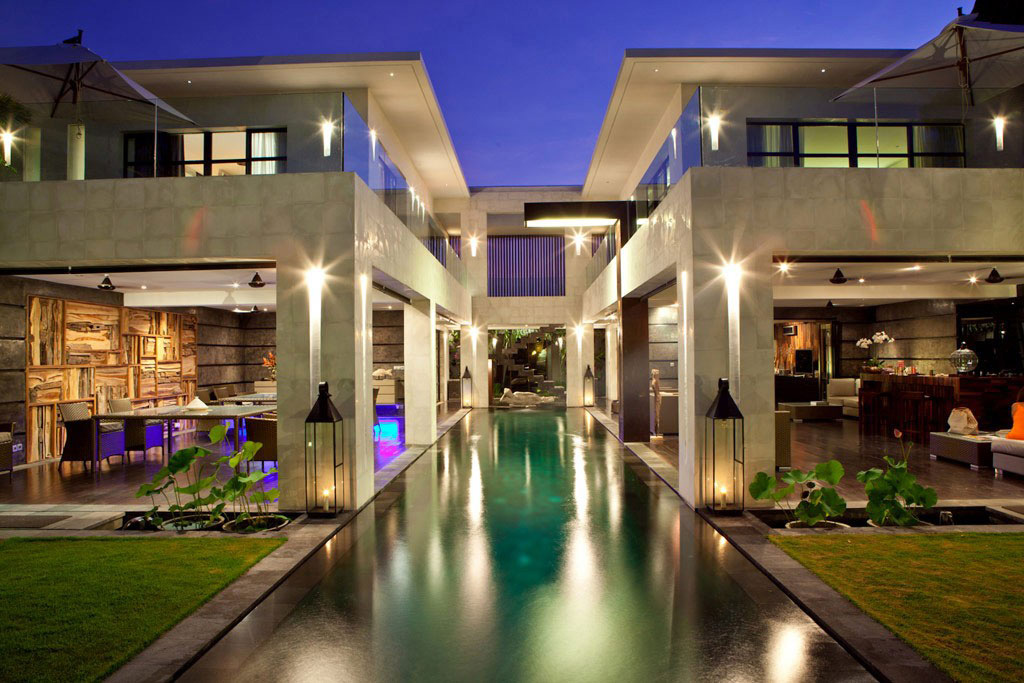 Pool, Lighting, Casa Hannah in Bali, Indonesia by Bo Design
