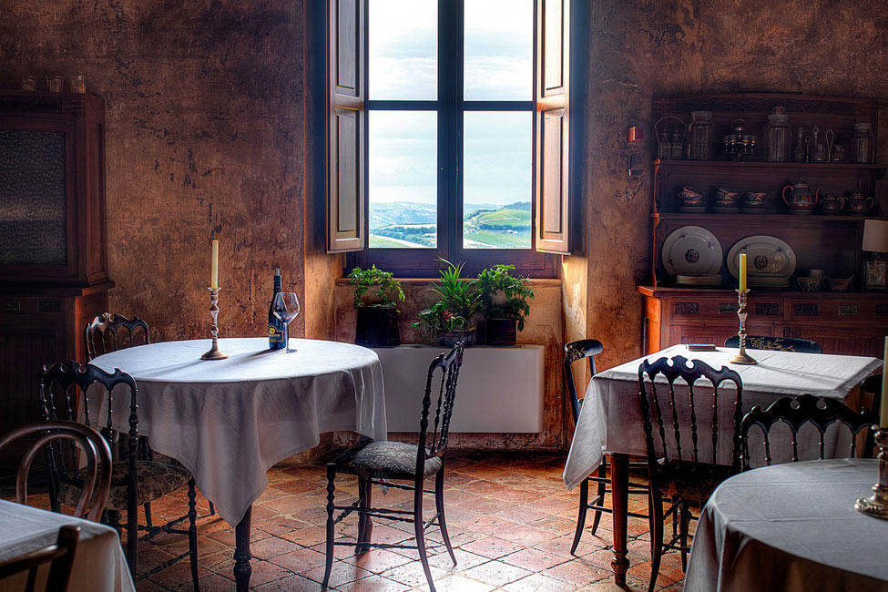 Dining Room, Castello di Semivicoli Hotel in Casacanditella, Italy