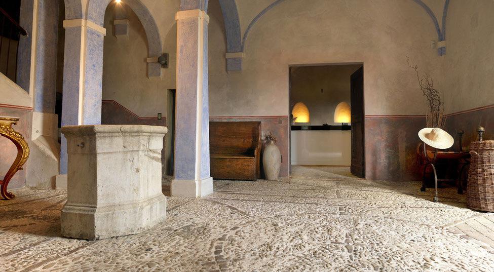 Lobby, Castello di Semivicoli Hotel in Casacanditella, Italy