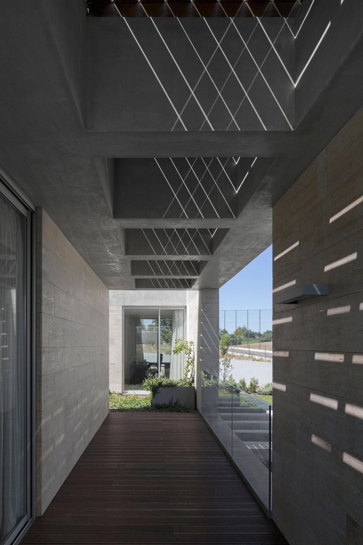 Patio, Wood Flooring, C+P House in Lisbon, Portugal by Gonçalo das Neves Nunes