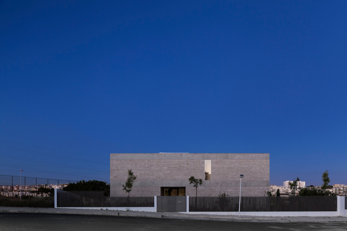 Street View, Fence, Gate, C+P House in Lisbon, Portugal by Gonçalo das Neves Nunes