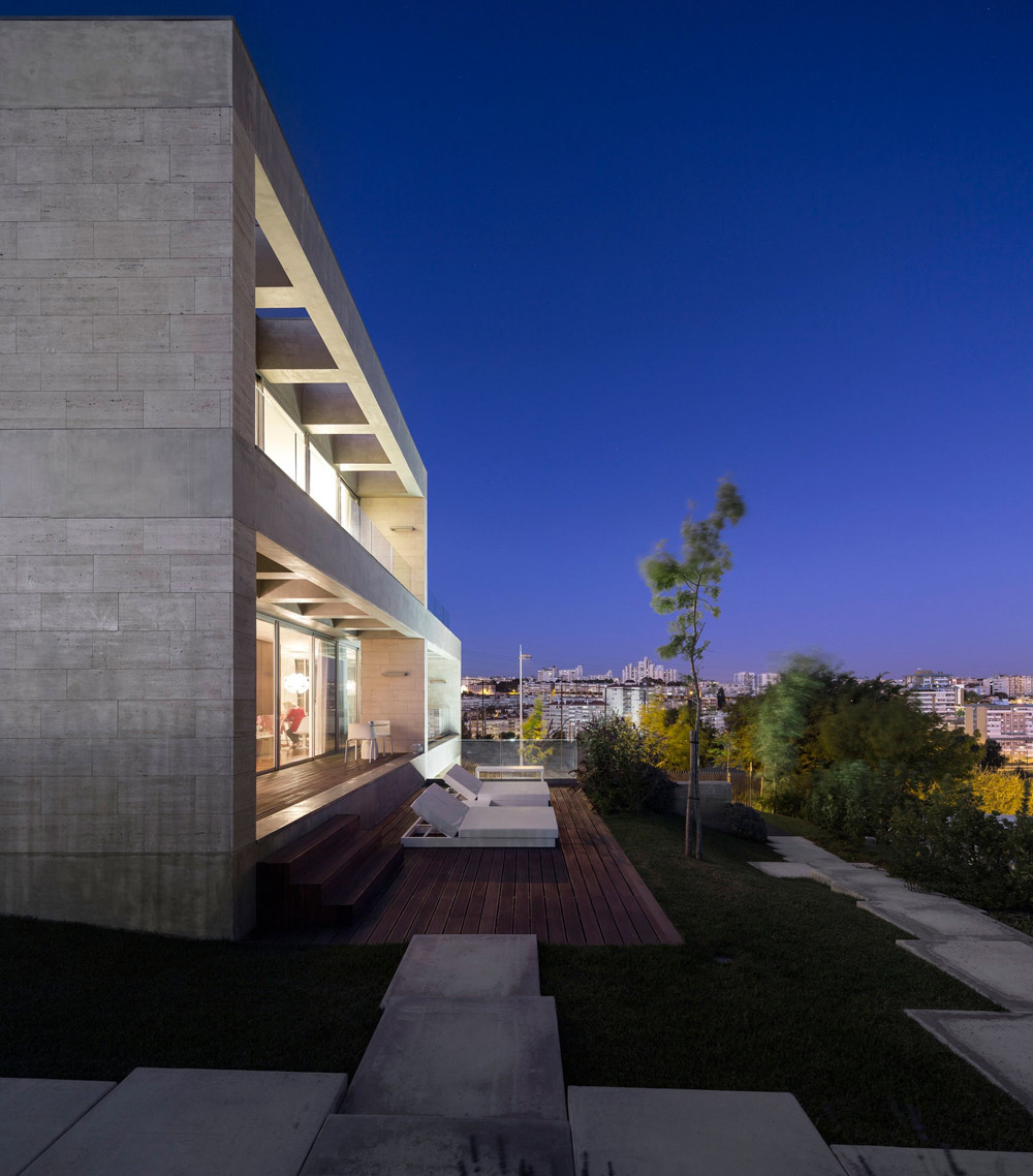 Wood Decking, Outdoor Living, Views, C+P House in Lisbon, Portugal by Gonçalo das Neves Nunes