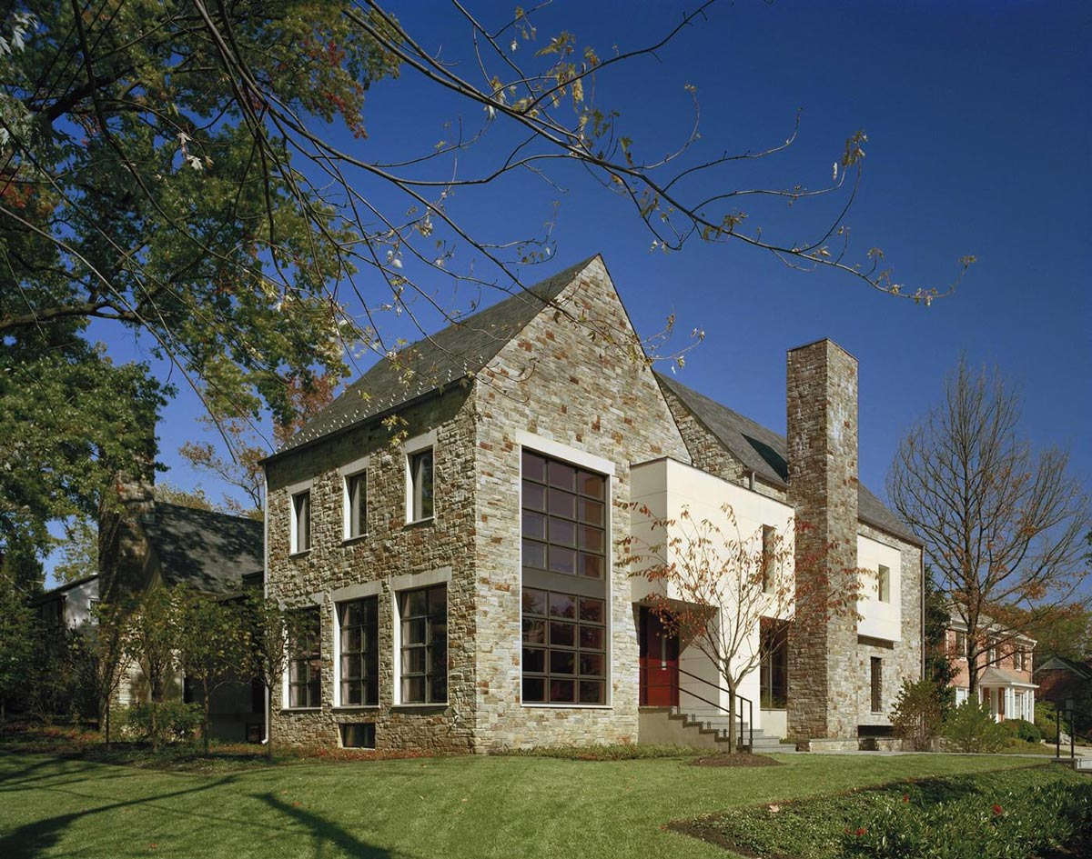 Edgemoor Residence in Maryland by David Jameson Architect