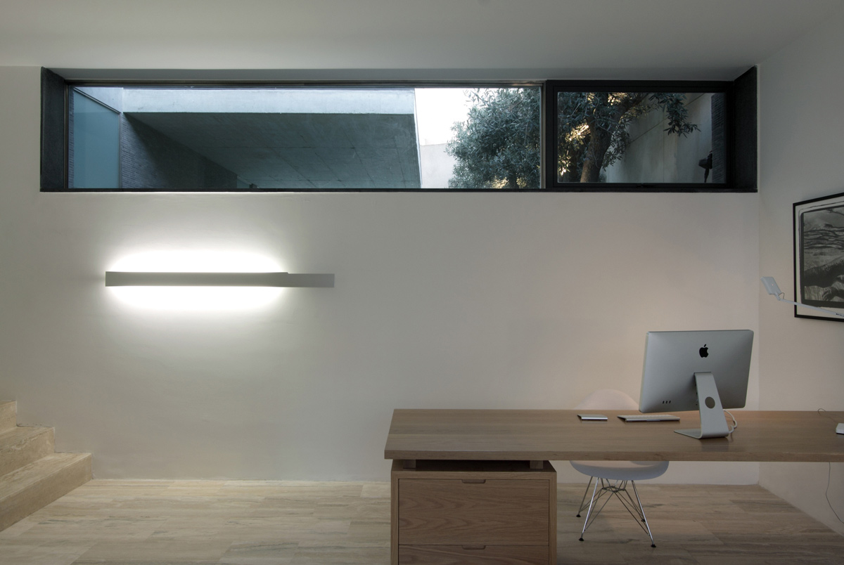 Home Office, Hanging Home in Naxxar, Malta by Chris Briffa Architects