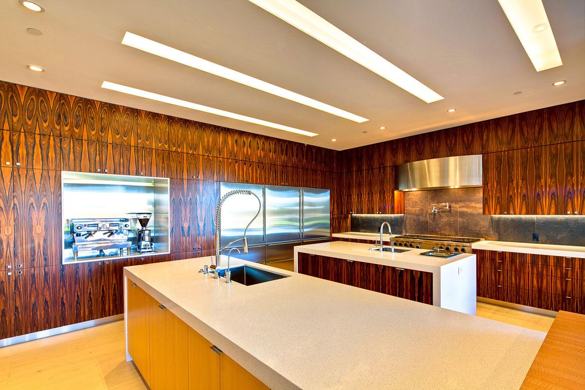 Double Kitchen Island, Ironwood Estate in Paradise Valley, Arizona by Kendle Design Collaborative