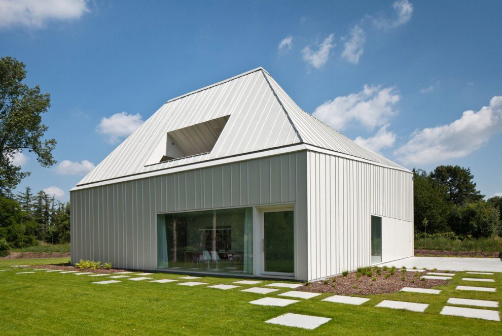 VMVK House in Sint-Katelijne-Waver, Belgium by dmvA