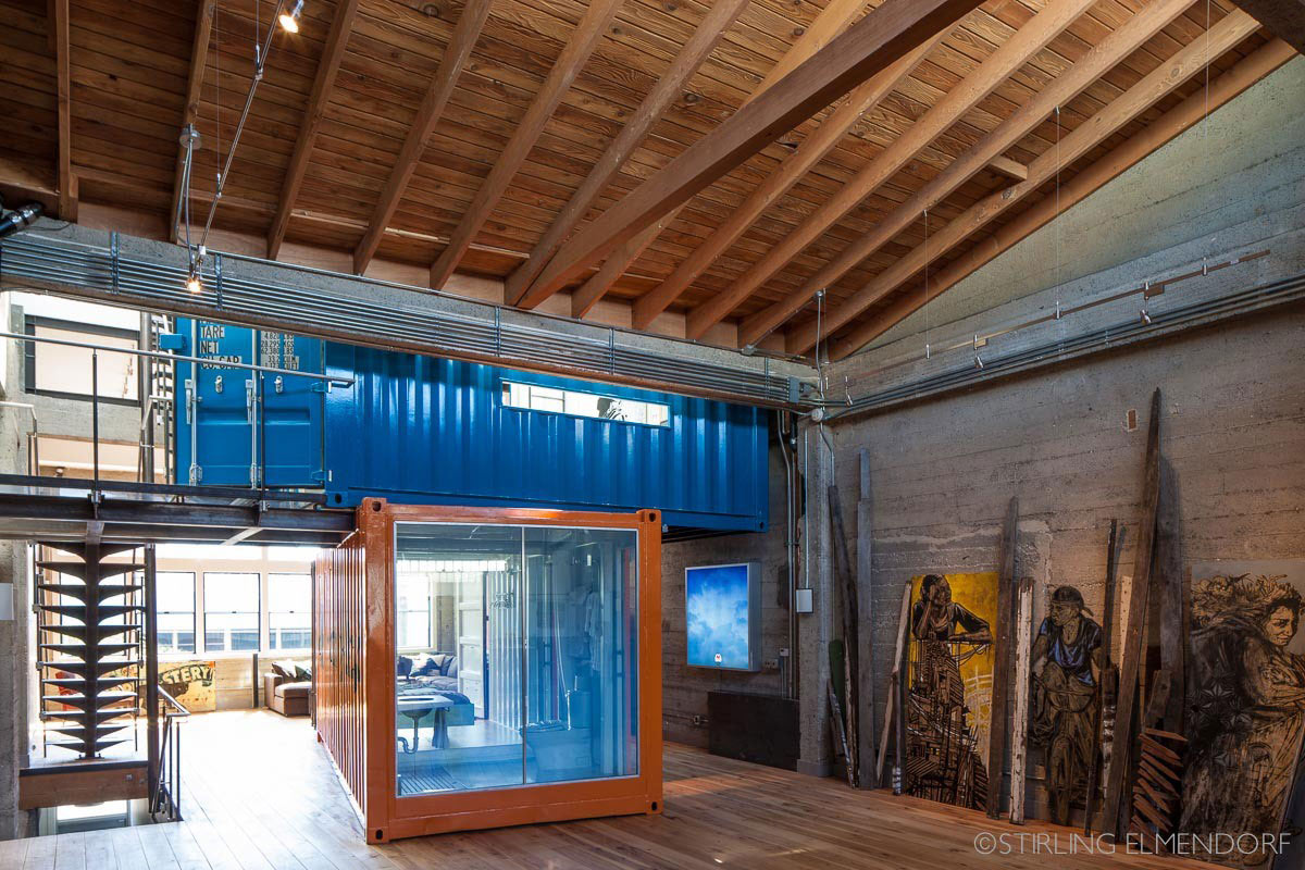 Container, Bathroom, SF Loft in San Francisco, California by Wardell + Sagan Projekt