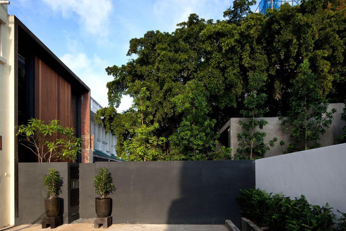 Garden, Lucky Shophouse in Joo Chiat, Singapore