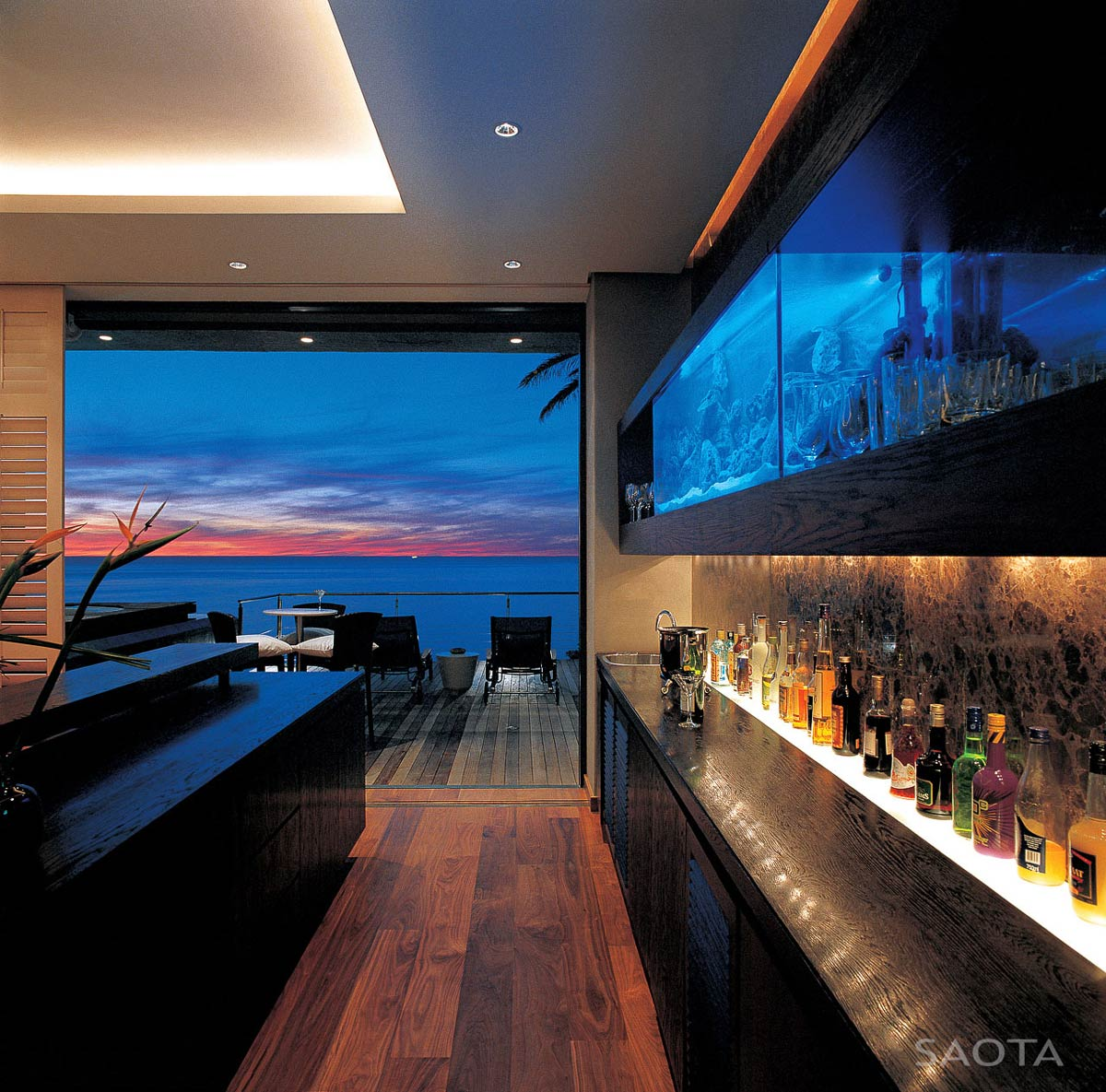 Bar, Terrace, Ocean Views, St Leon 10 in Cape Town, South Africa by SAOTA and Antoni Associates