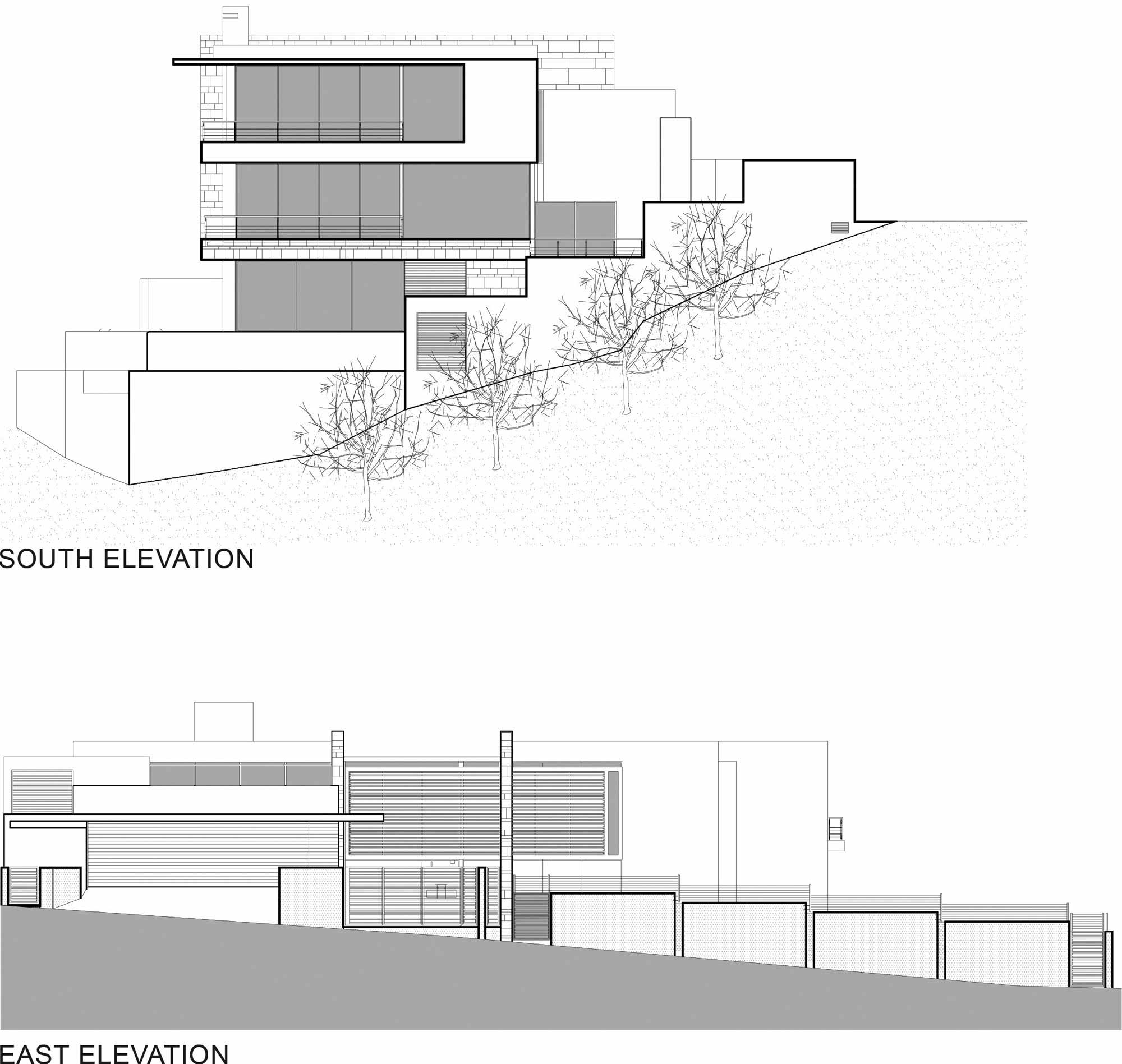 Elevations, St Leon 10 in Cape Town, South Africa by SAOTA and Antoni Associates