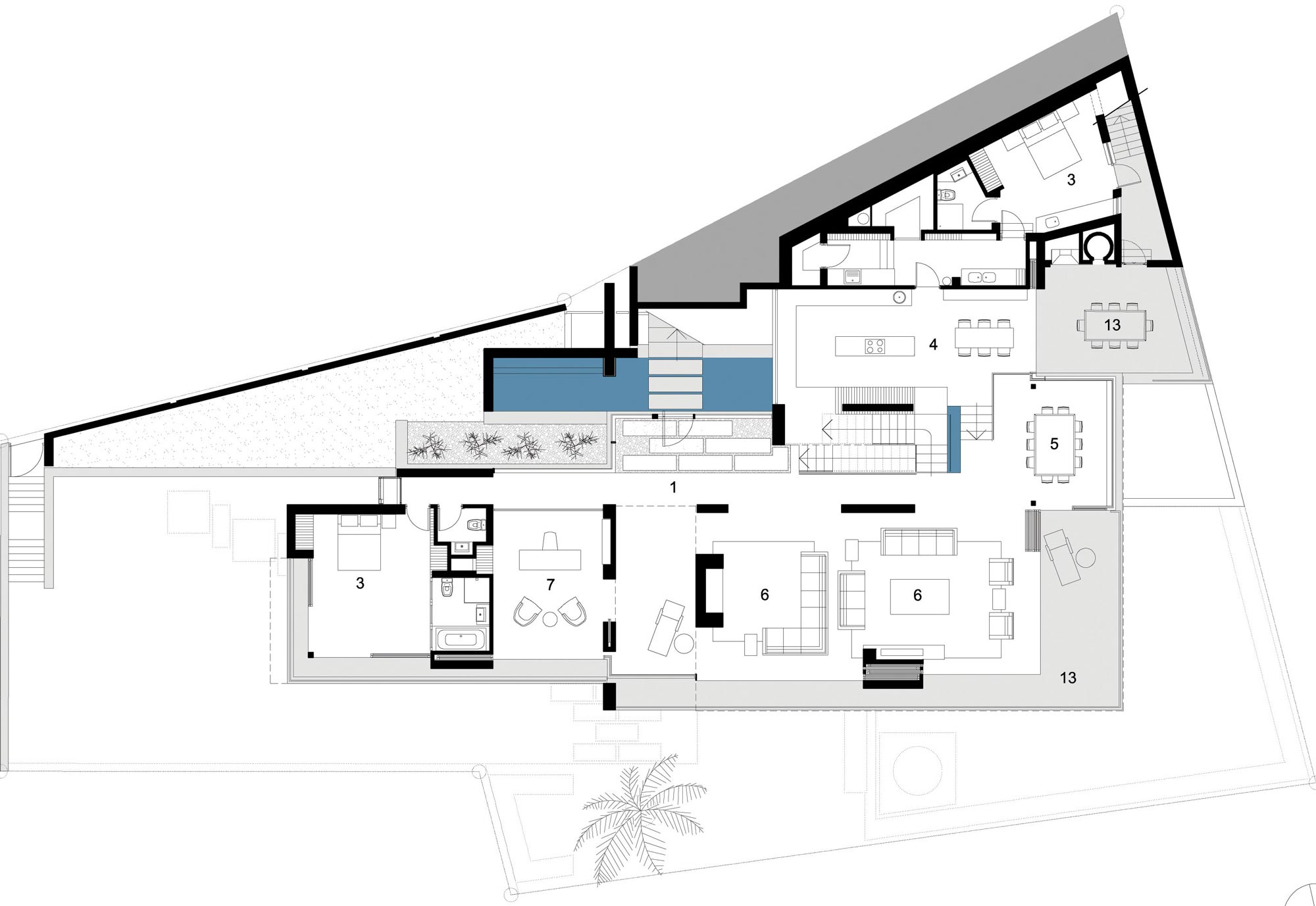 Second Floor Plan St Leon 10 In Cape Town South Africa By Saota And Antoni Ociates