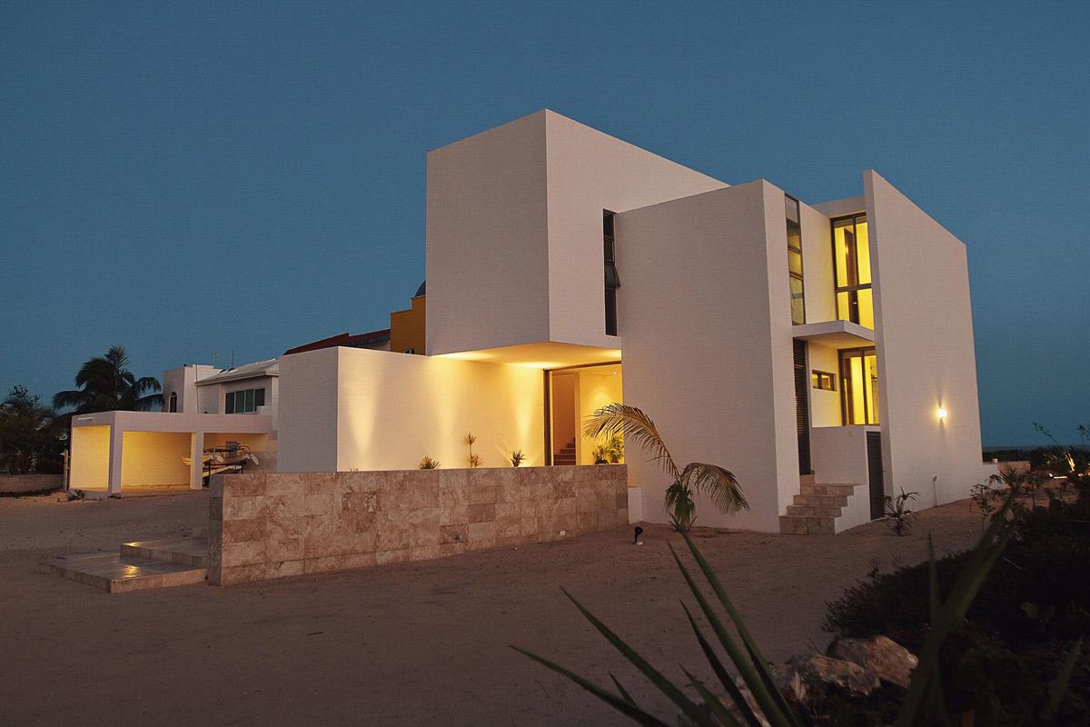 Dusk, Lighting, Tuunich Kanab in San Bruno, Mexico by Seijo Peon Arquitectos