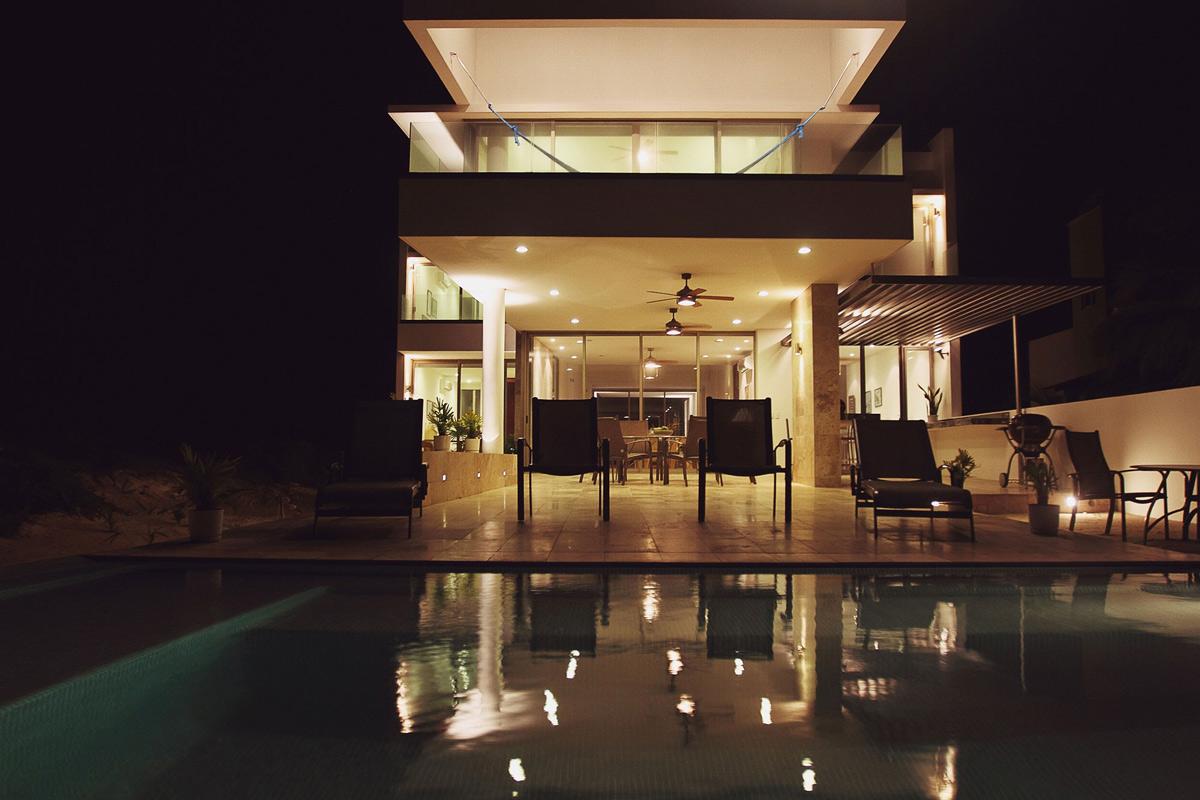 Outdoor Pool, Terrace, Tuunich Kanab in San Bruno, Mexico by Seijo Peon Arquitectos