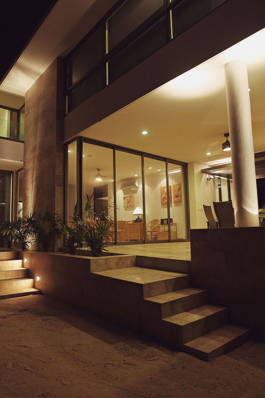 Terrace, Steps, Tuunich Kanab in San Bruno, Mexico by Seijo Peon Arquitectos