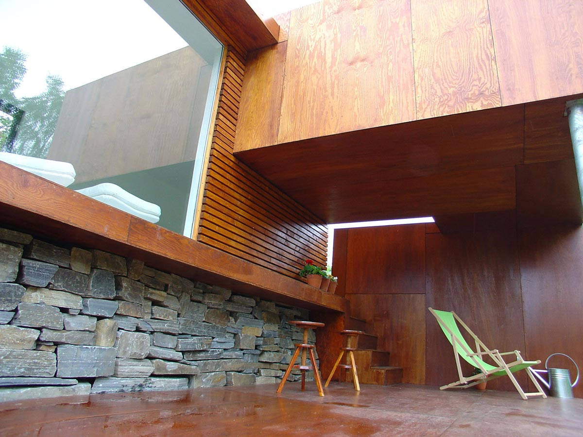 Deck, Casa Kolonihagen in Stavanger, Norway by Tommie Wilhelmsen