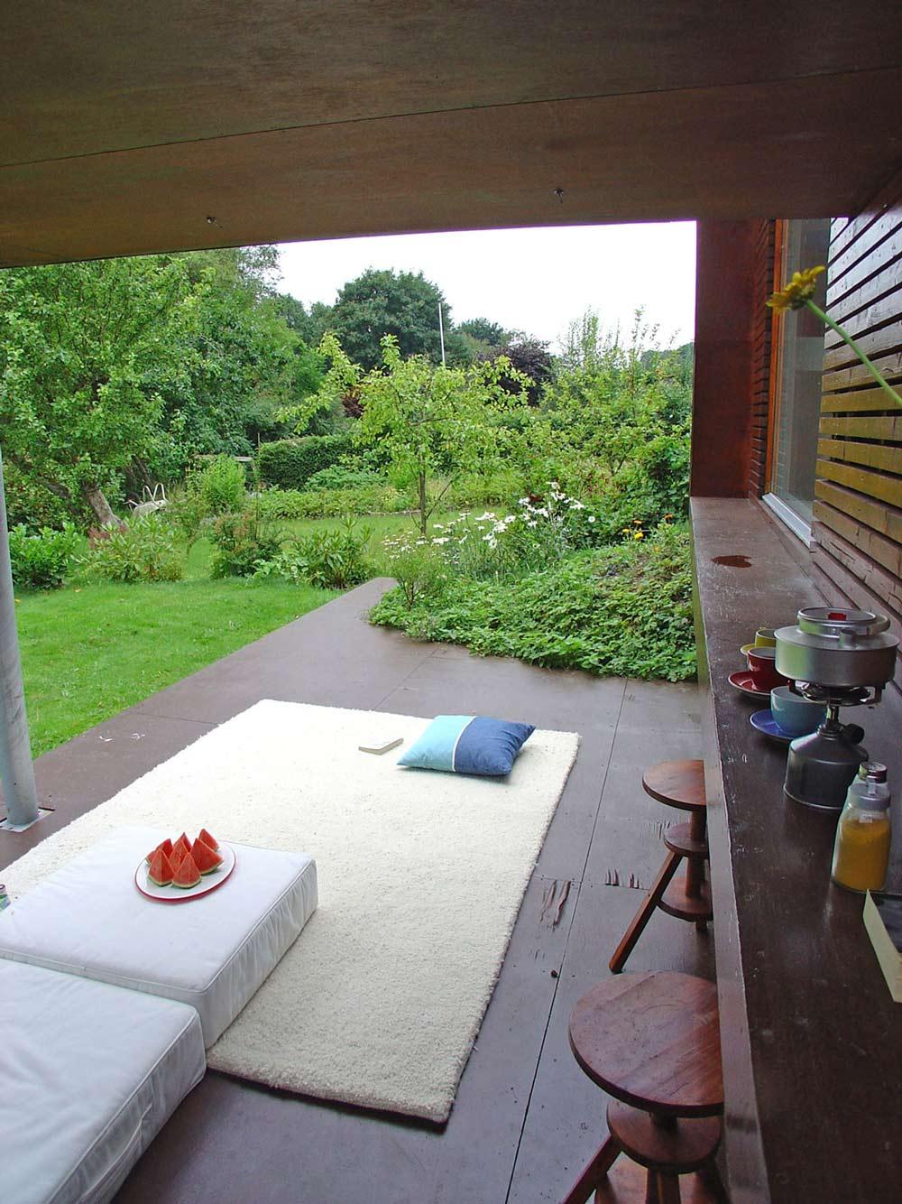 Deck, Rug, Casa Kolonihagen in Stavanger, Norway by Tommie Wilhelmsen