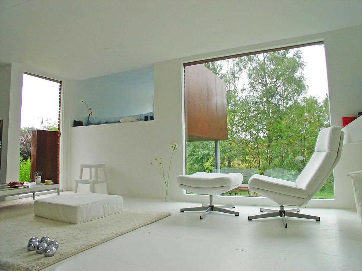 Living Space, Casa Kolonihagen in Stavanger, Norway by Tommie Wilhelmsen