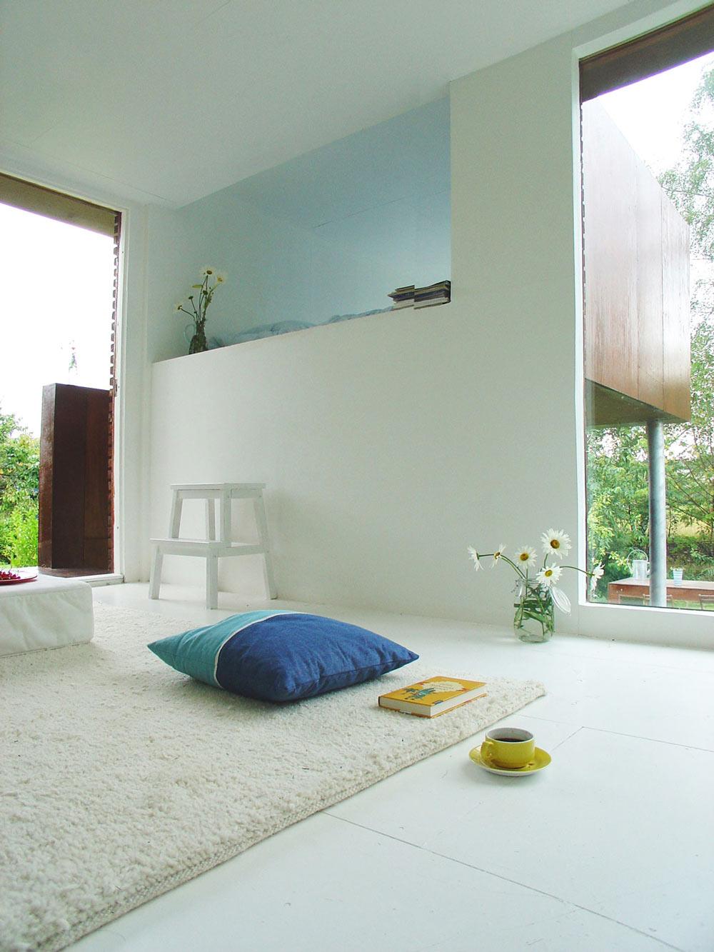 Rug, Living Space, Casa Kolonihagen in Stavanger, Norway by Tommie Wilhelmsen