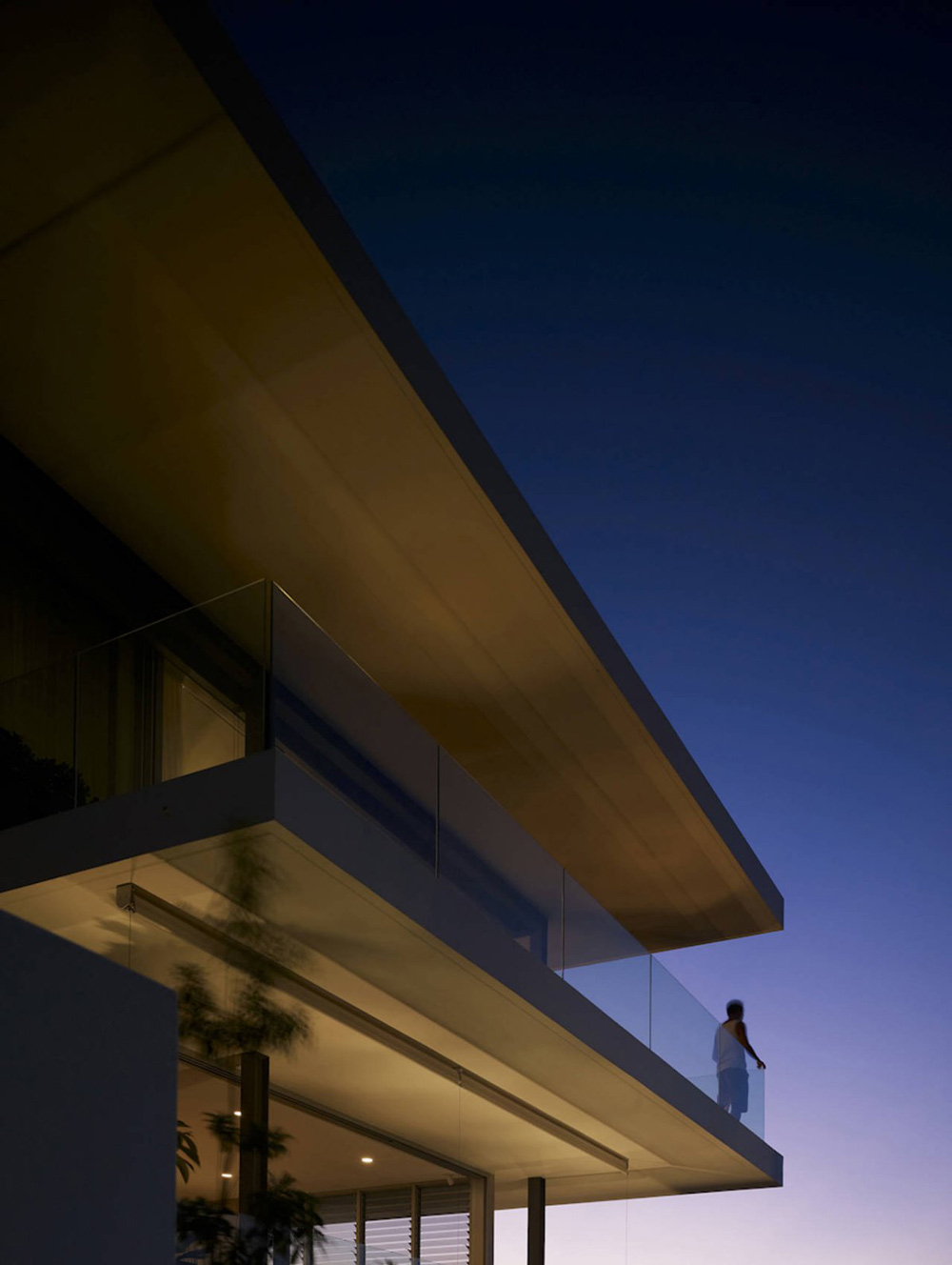 Balcony, Vaucluse House in Sydney, Australia by MPR Design Group