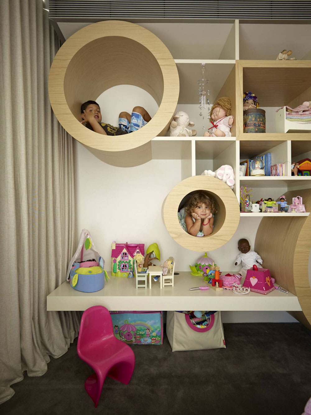 Children's Bedroom, Vaucluse House in Sydney, Australia by MPR Design Group