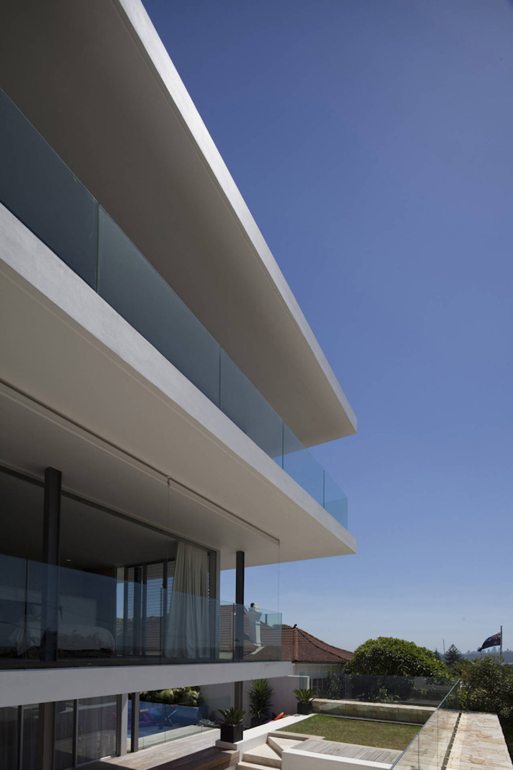 Glass Balustrading, Vaucluse House in Sydney, Australia by MPR Design Group