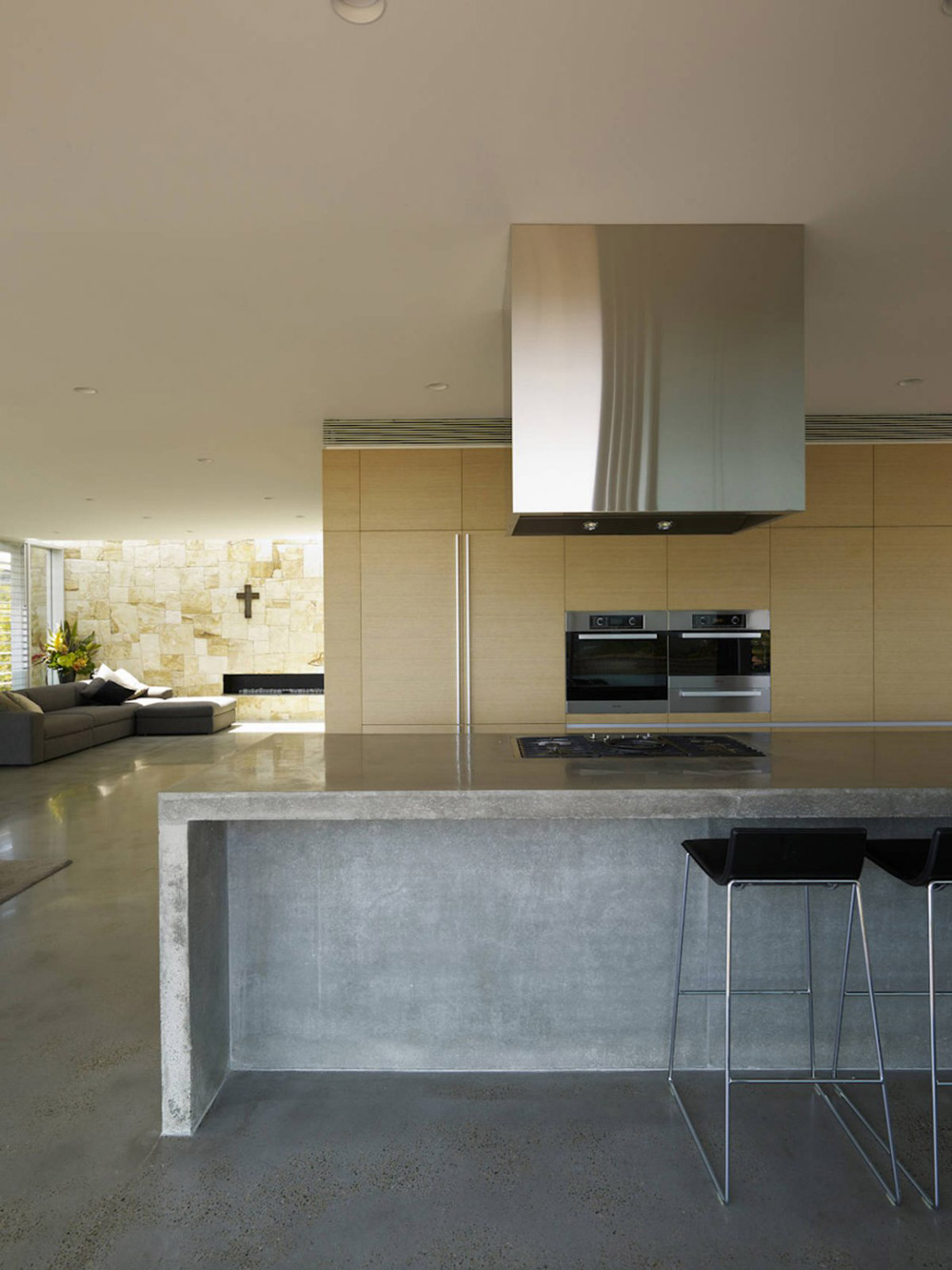Kitchen Island, Vaucluse House in Sydney, Australia by MPR Design Group