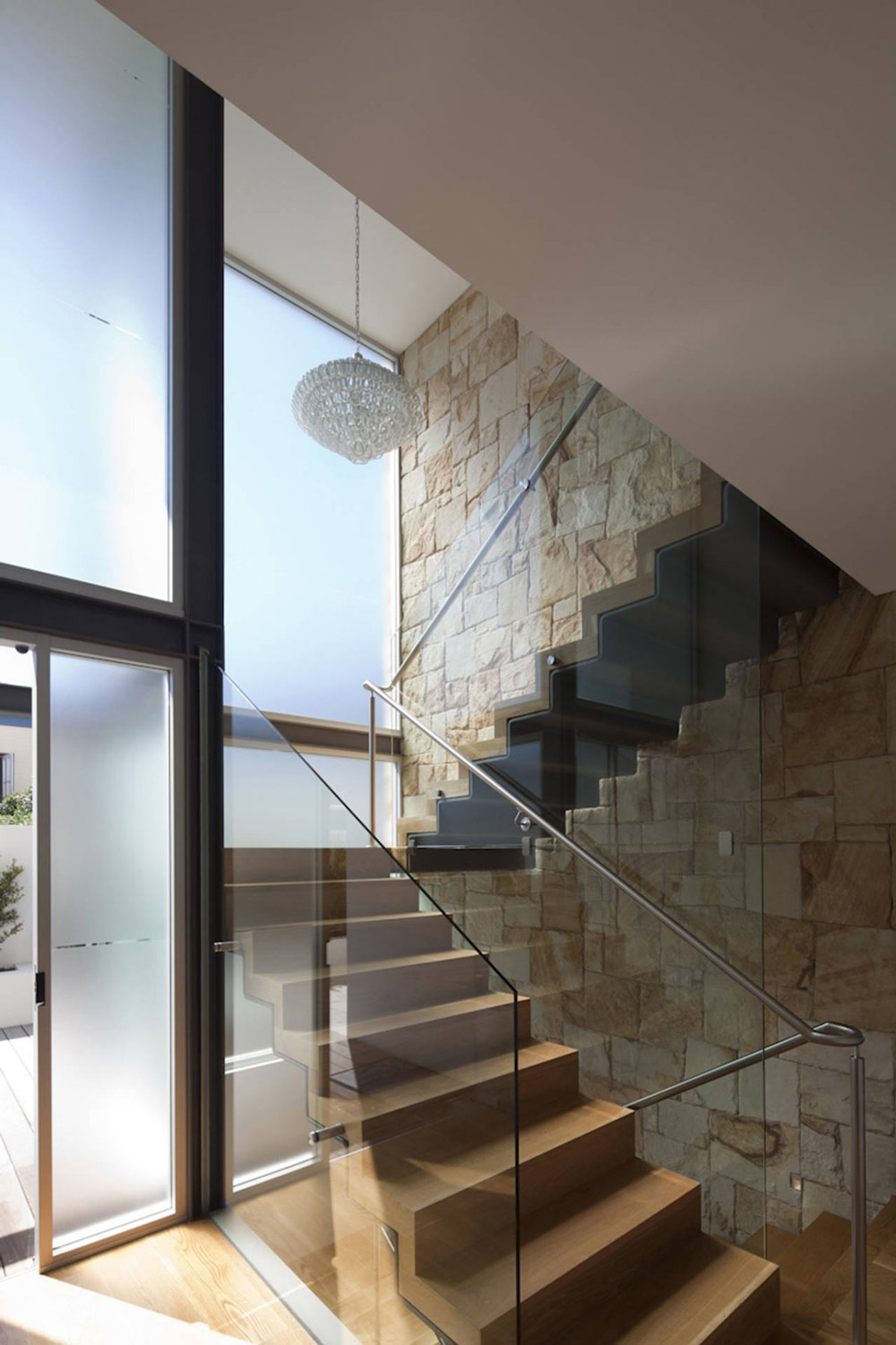 Modern Stairs, Vaucluse House in Sydney, Australia by MPR Design Group