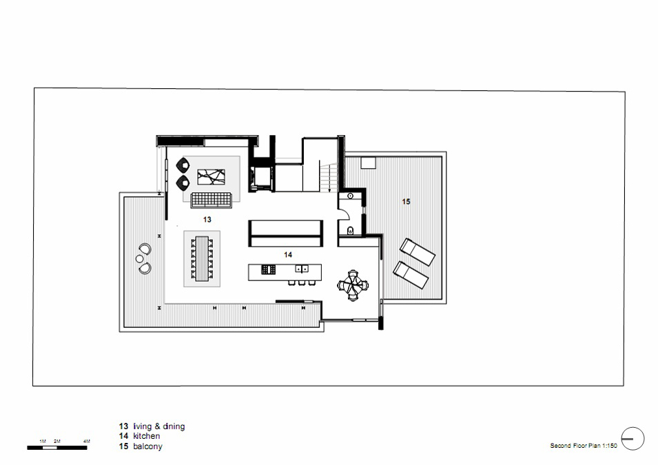Second Floor Plan Vaucluse House In Sydney Australia By