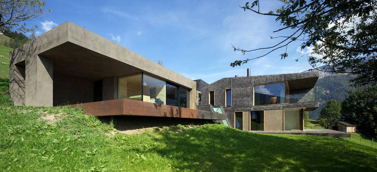 Kurt Brunner Residence in Sterzing, Italy