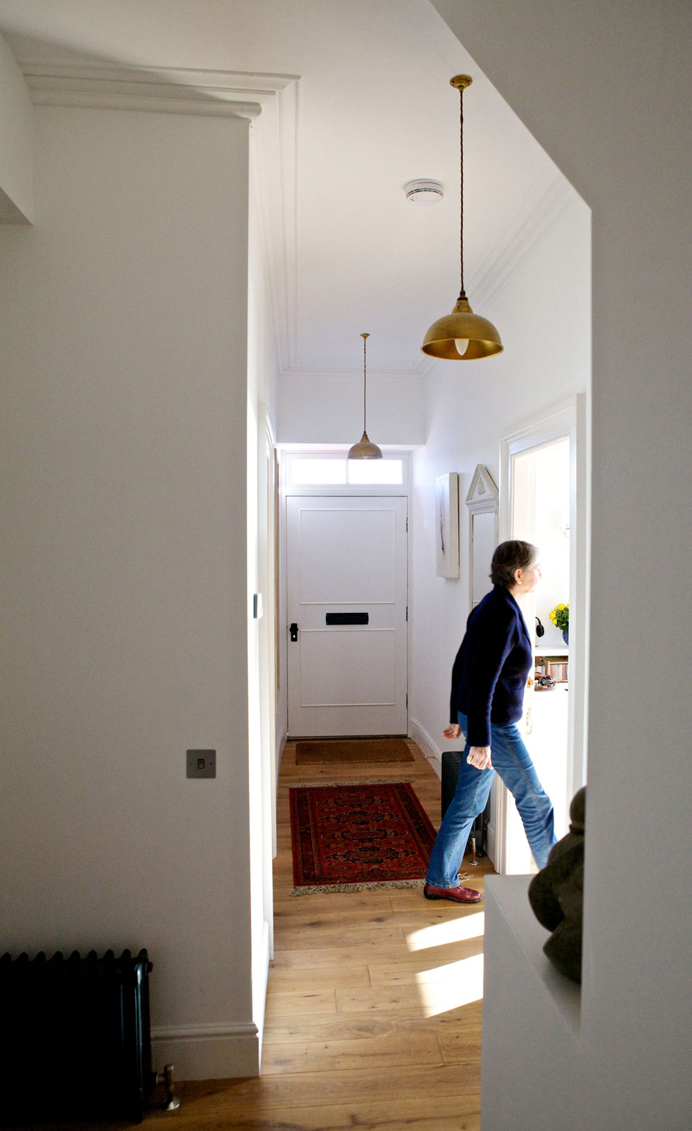 Entrance Hall, The Sheiling, Overlooking Loch Fyne, Scotland by APD Architecture