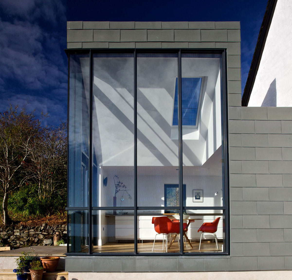 Glass Walls, The Sheiling, Overlooking Loch Fyne, Scotland by APD Architecture