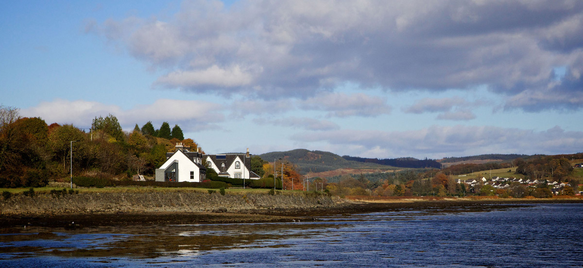 The Sheiling, Overlooking Loch Fyne, Scotland by APD Architecture