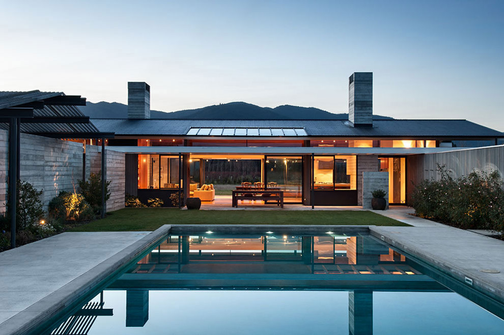 Wairau Valley House in Rapaura, New Zealand by Parsonson Architects
