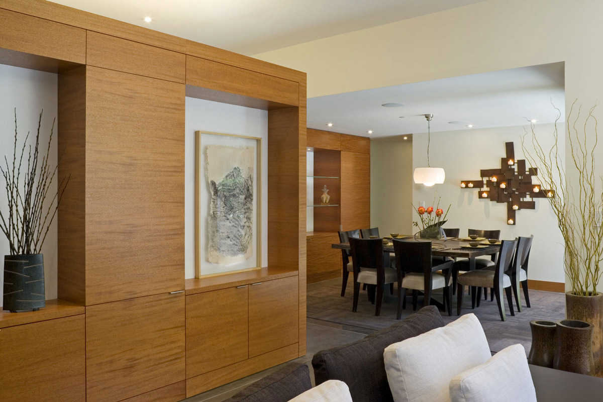 Dining Space, Wheeler Residence in Menlo Park, California by William Duff Architects