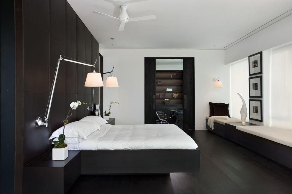 Black & White Kitchen, Yorkville Penthouse I in Toronto, Canada by Cecconi Simone