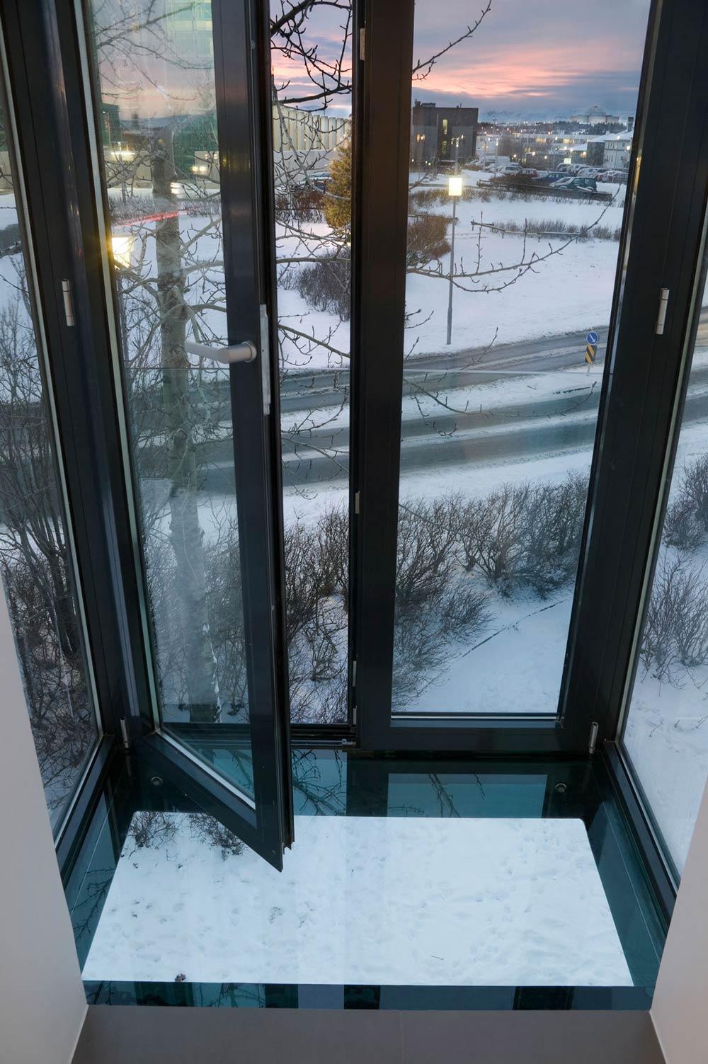 Balcony, Modern Apartment in Reykjavik, Iceland