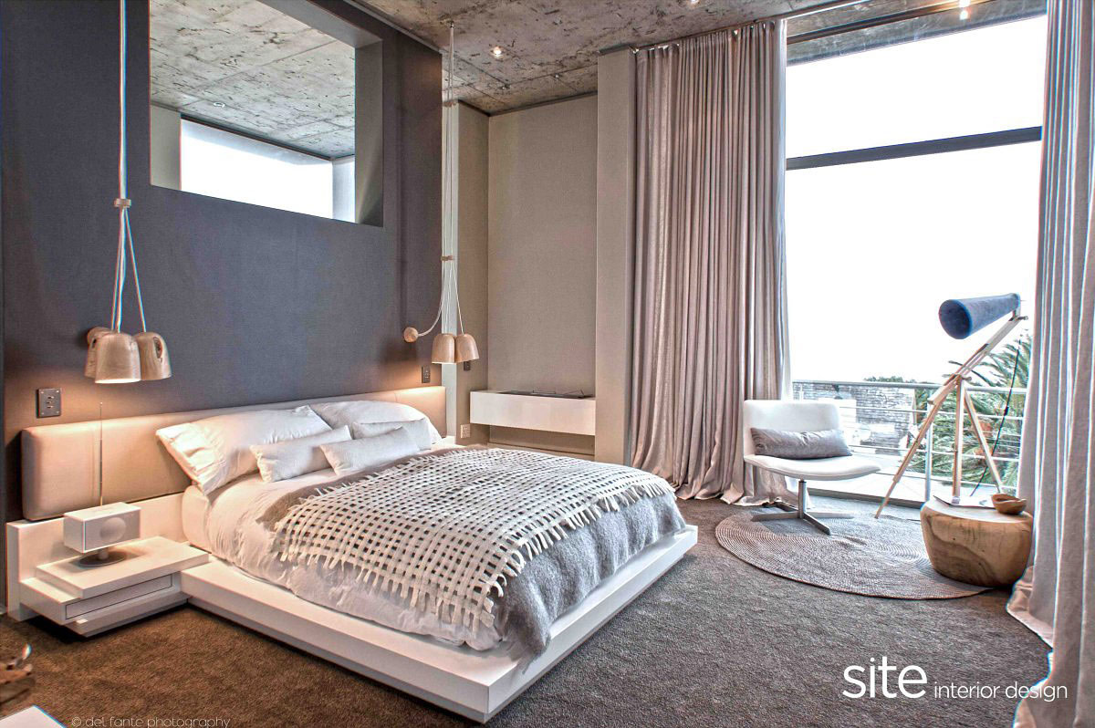 Aupiais house in camps bay south africa by site interior for South african bedroom designs