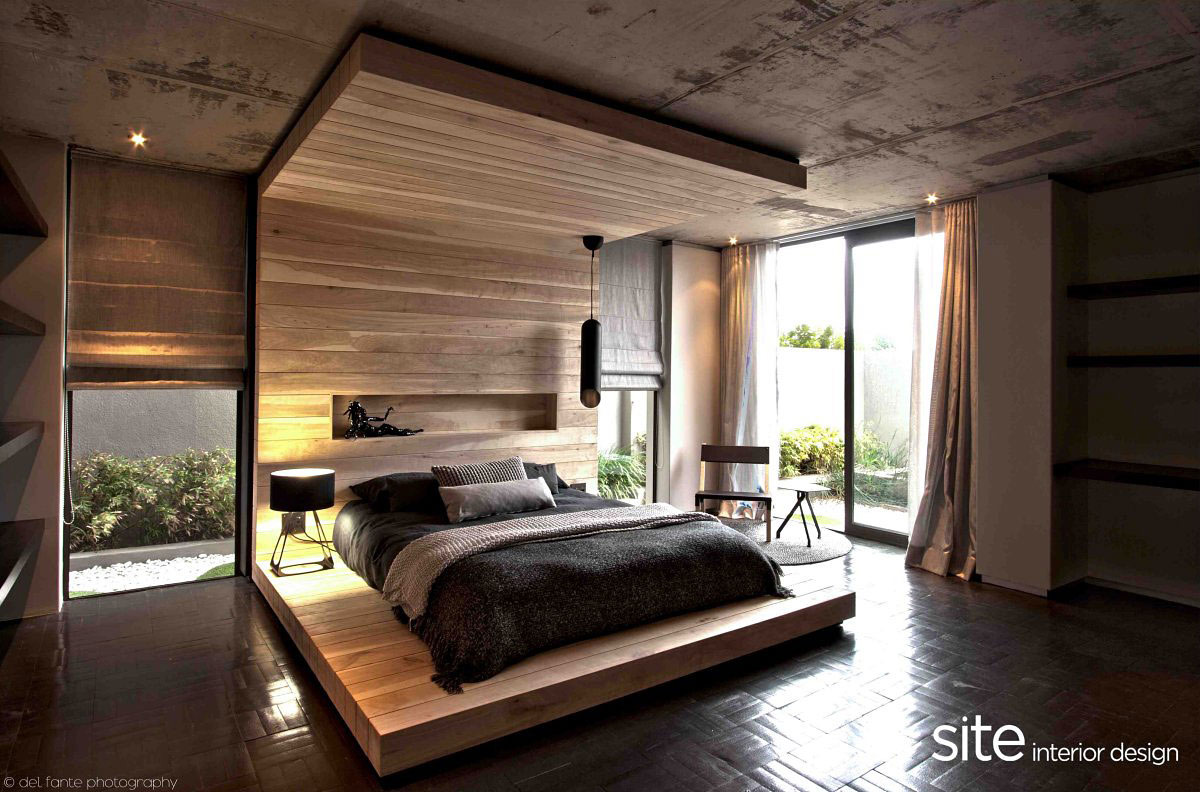 Bedroom, Aupiais House in Camps Bay, South Africa