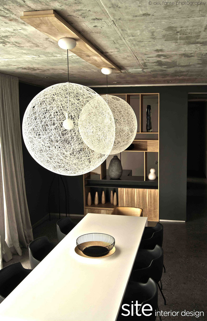 Lighting, Coffee Table, Aupiais House in Camps Bay, South Africa