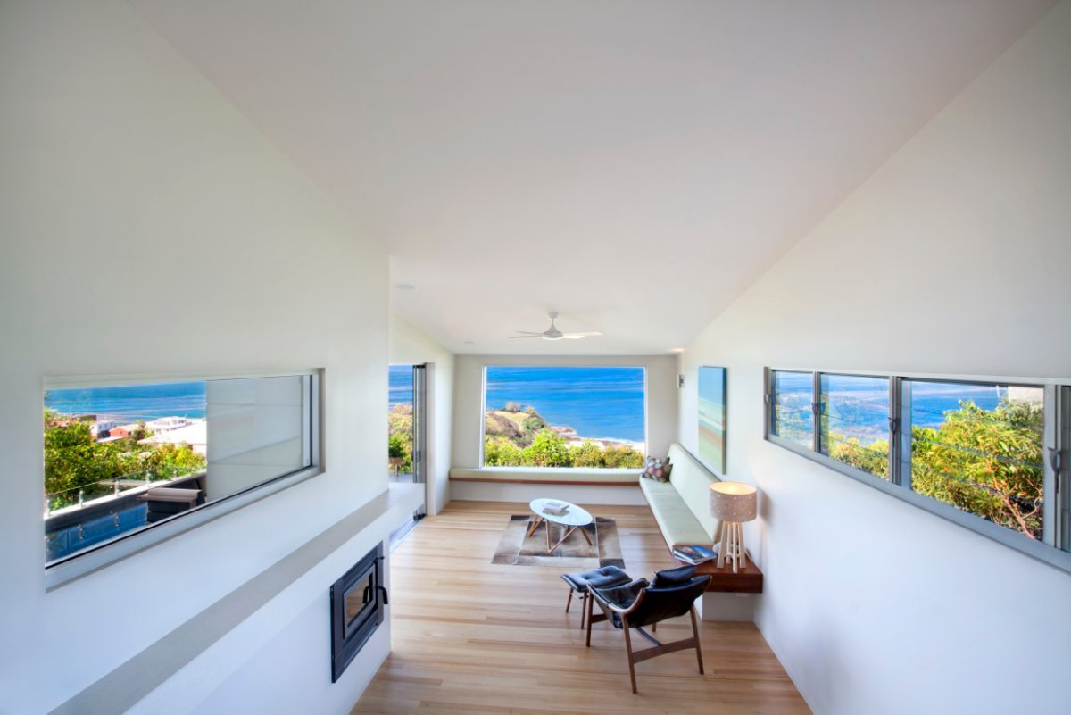 Living Space, Coolum Bays Beach House in Queensland, Australia