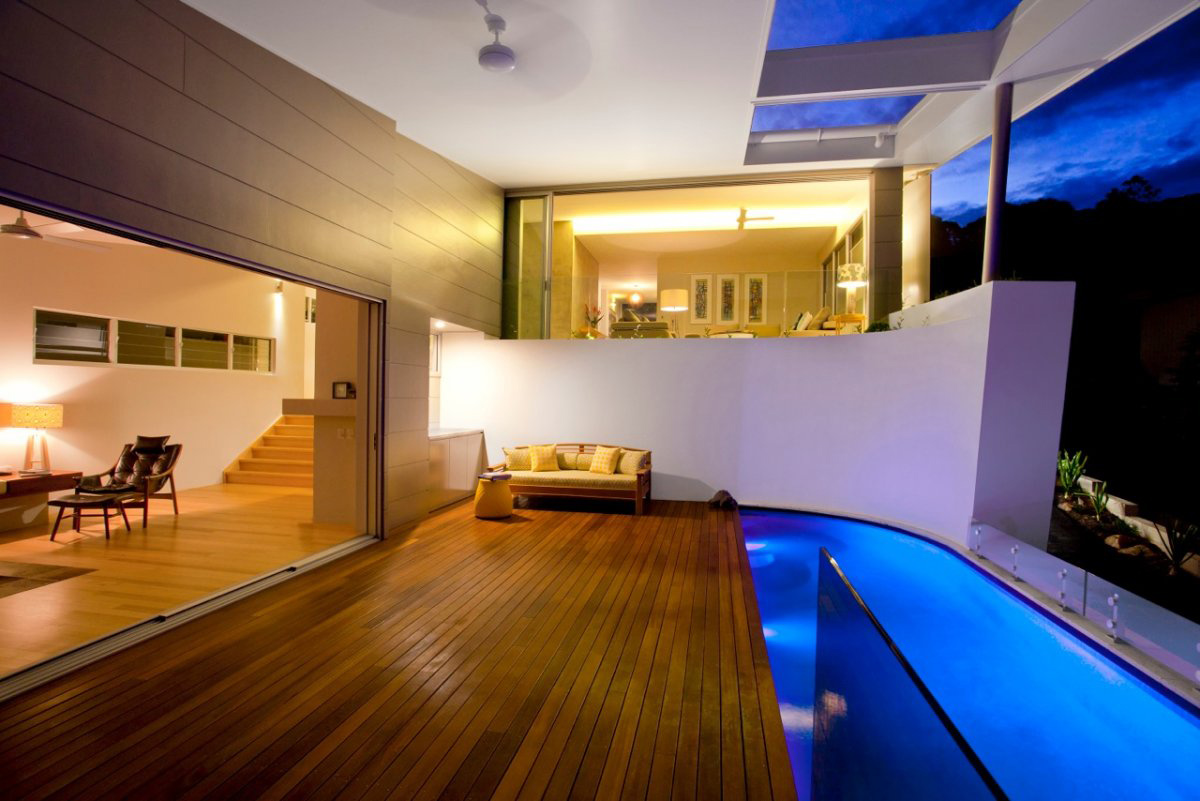 Terrace, Pool, Coolum Bays Beach House in Queensland, Australia