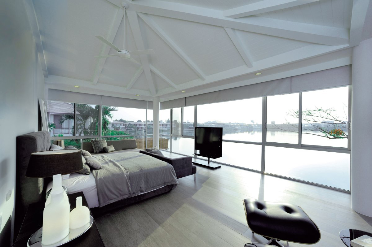 Bedroom, Lake Views, Baan Citta in Bangkok, Thailand by THE XSS