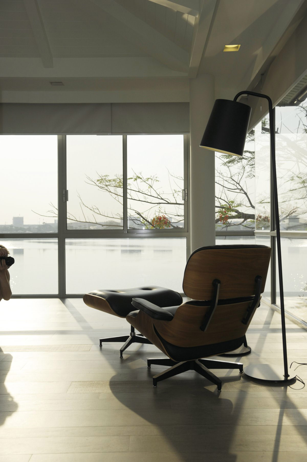 Bedroom, Chair, Lake Views, Baan Citta in Bangkok, Thailand by THE XSS