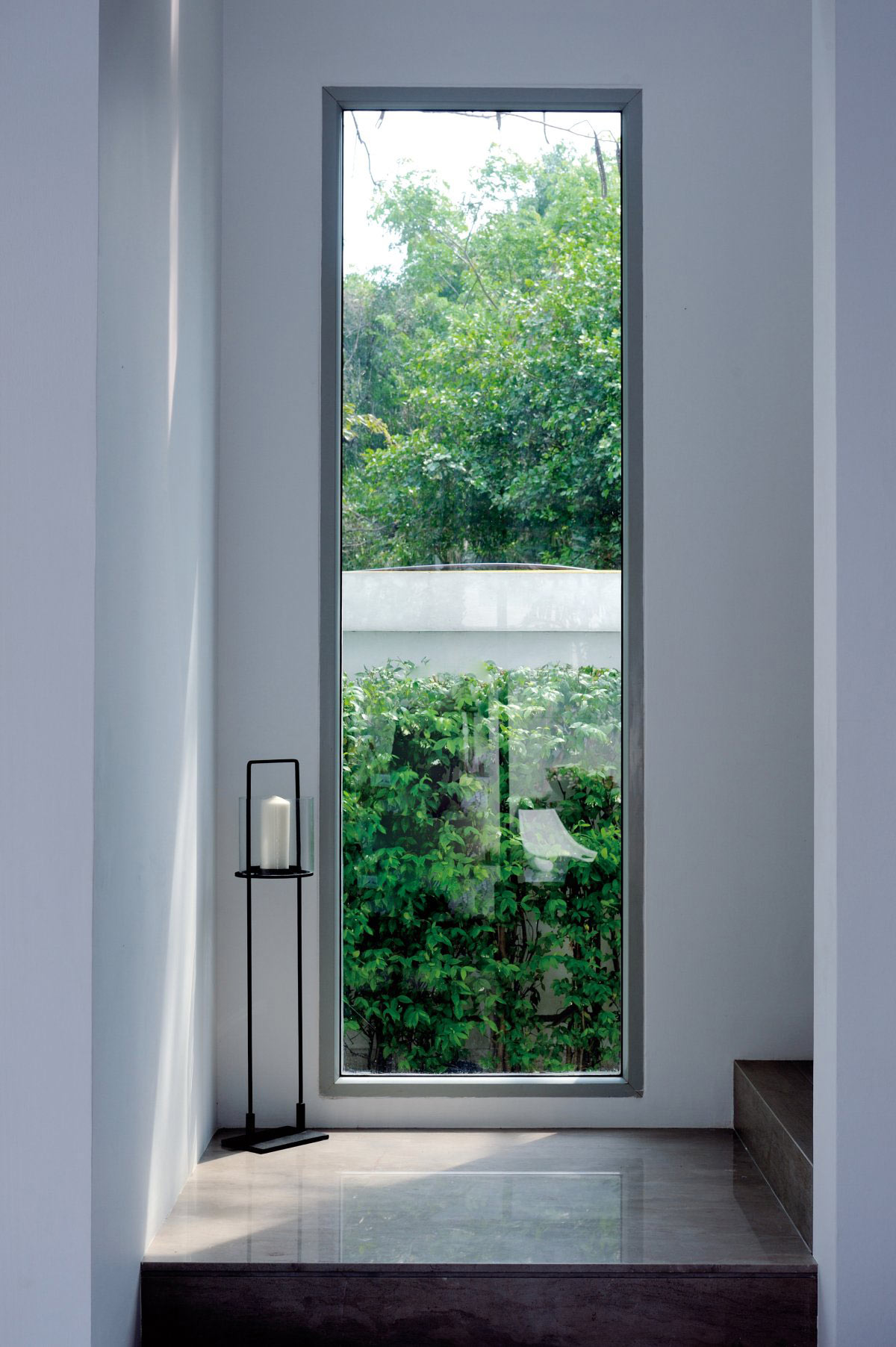 Large Window, Staircase, Baan Citta in Bangkok, Thailand by THE XSS