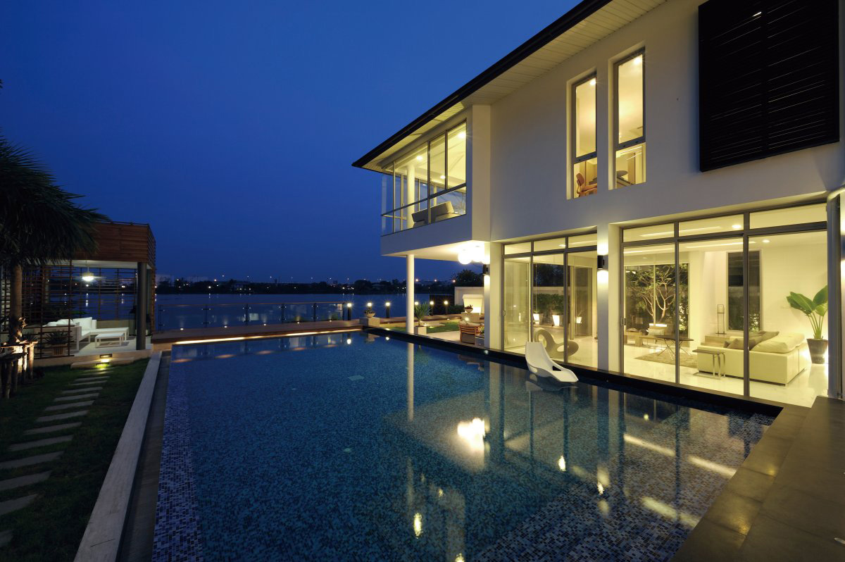 Pool, Lake View, Baan Citta in Bangkok, Thailand by THE XSS