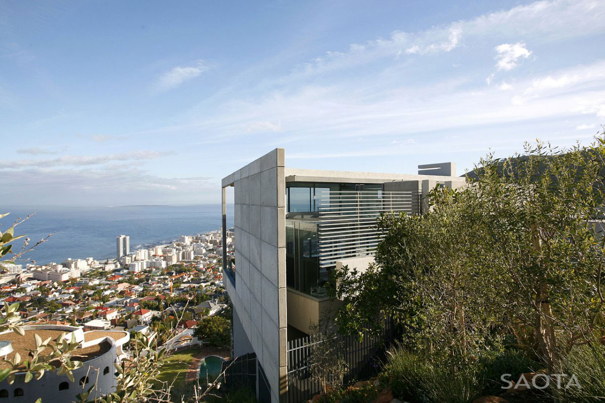 Views, Contemporary 3-Level Home in Cape Town, South Africa
