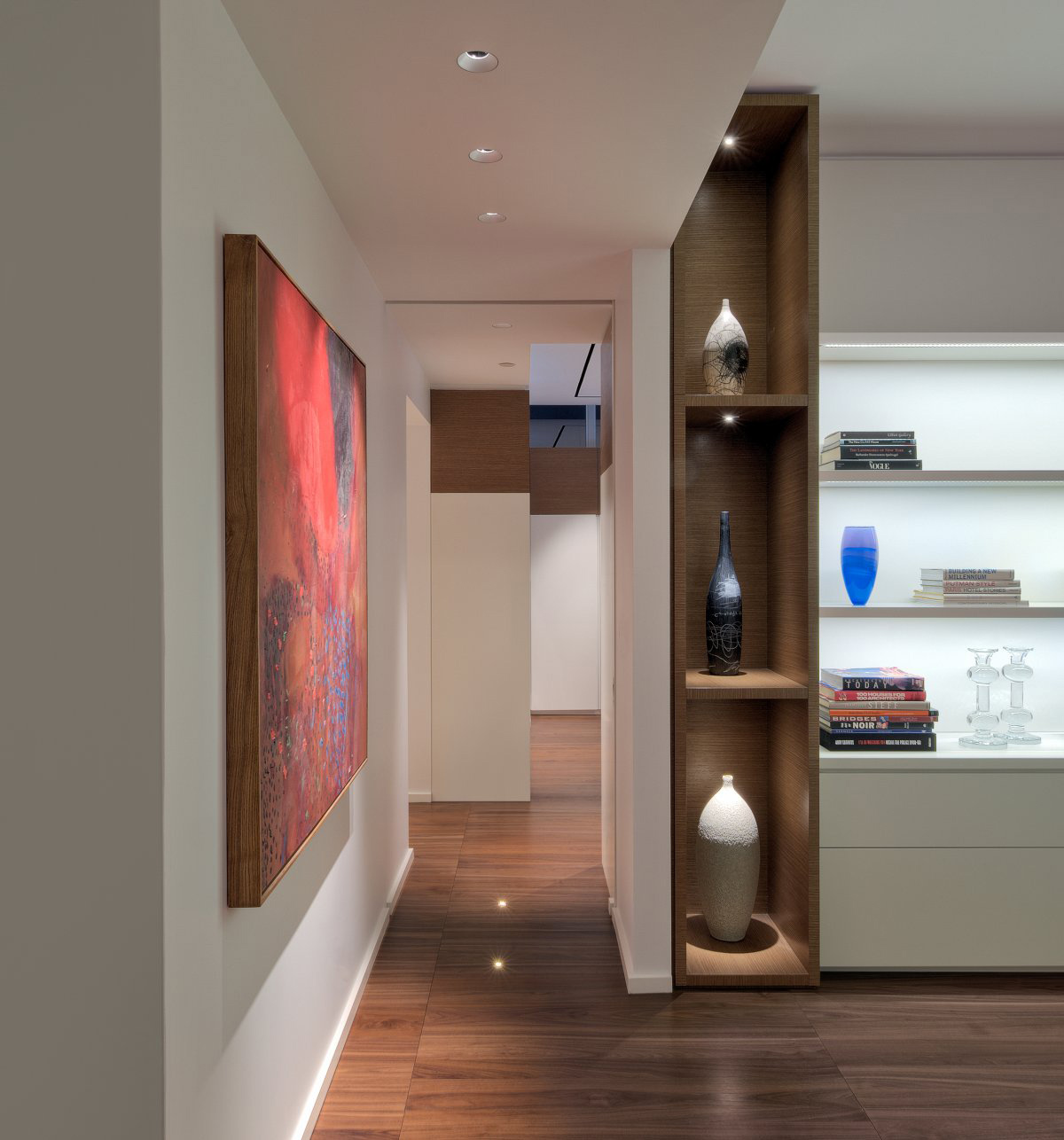 Art, Yorkville Penthouse II in Toronto, Canada by Cecconi Simone
